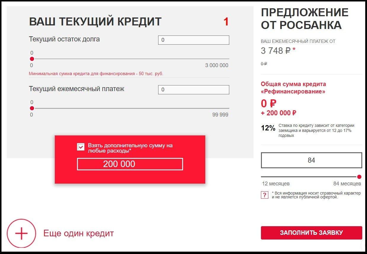кредитный займ заявка