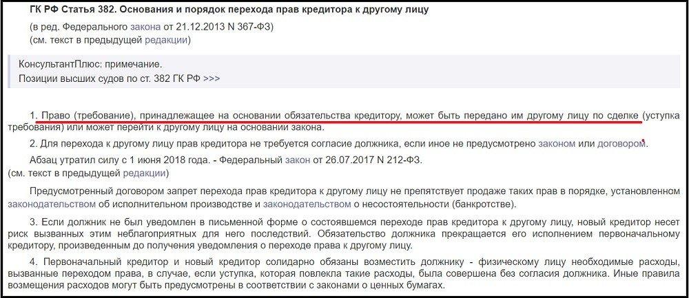 статья ГК РФ